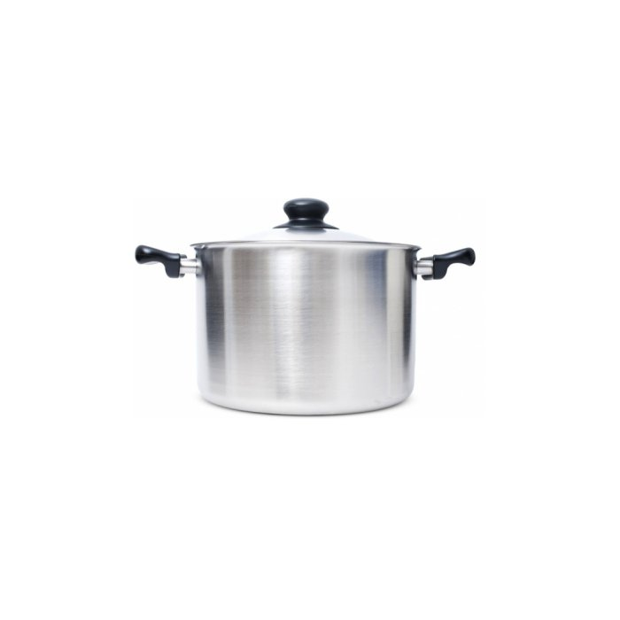 Stainless Steel Pan (Deep) by Sori Yanagi