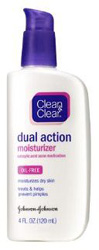 Clean & Clear Oil-Free Dual Action Moisturizer