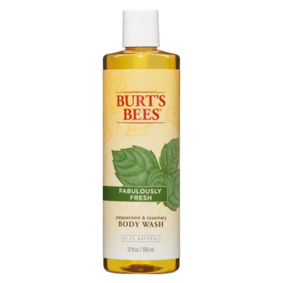 Burt's Bees Fabulously Fresh Body Wash in Peppermint & Rosemary