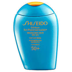 Shiseido Ultimate Sun Protection Lotion+ Broad Spectrum SPF 50+ for Face/Body