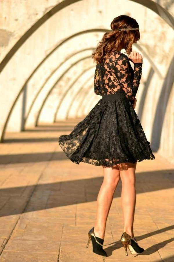Black Party/casual Dress
