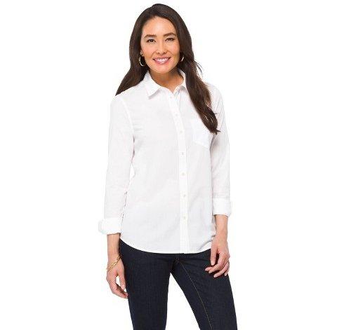 Structured Button-down Shirts Are Workwear Essentials
