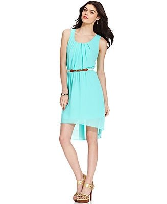 Belted High Low Dress - 7 Spring Dresses for Teens to Soak up the…
