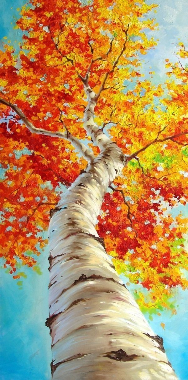 Fall leaves 31 paintings you can copy for your own house for Paintings to copy