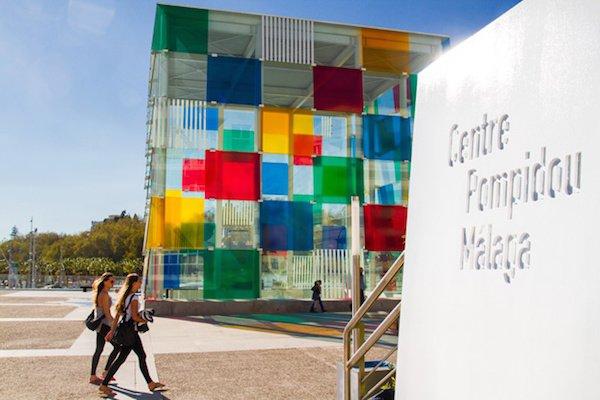Centro Pompidou Malaga, Spain