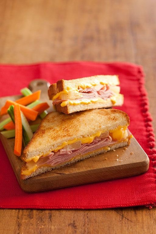 Hawaiian Grilled Cheese Sandwiches