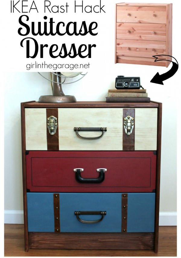 Make It Look Like Suitcases 41 Chest Of Drawer Makeovers