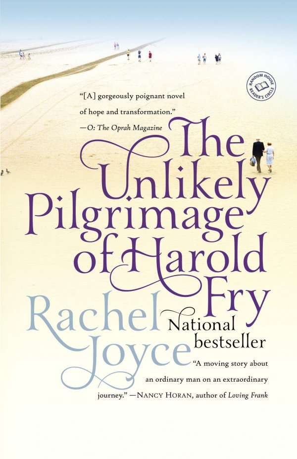 'the Unlikely Pilgrimage of Harold Fry' by Rachel Joyce