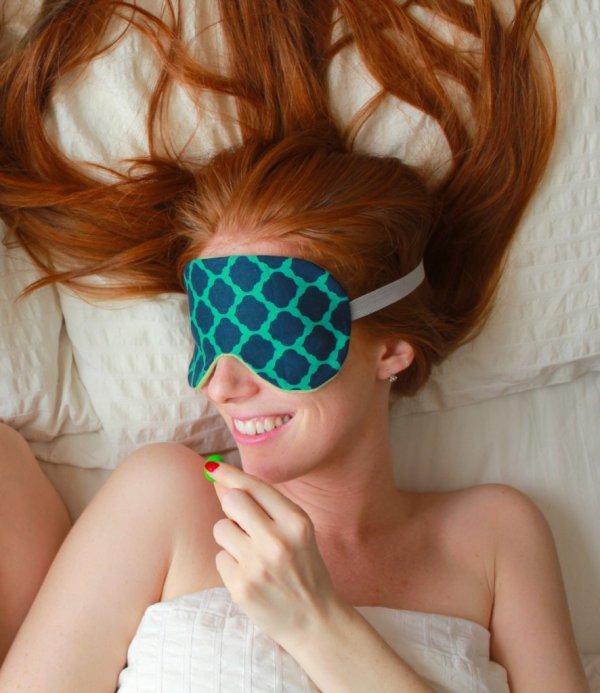 Wear a Sleep Mask