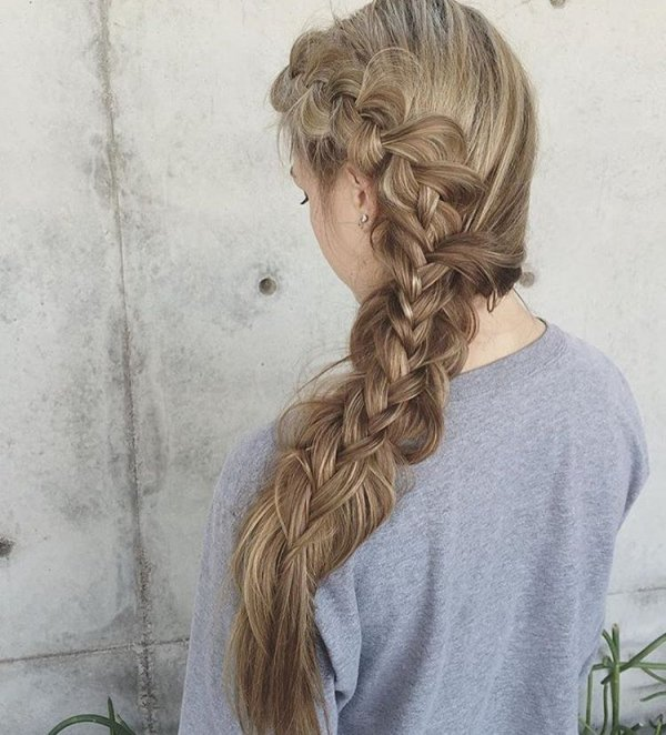 Her Gorgeous Braid