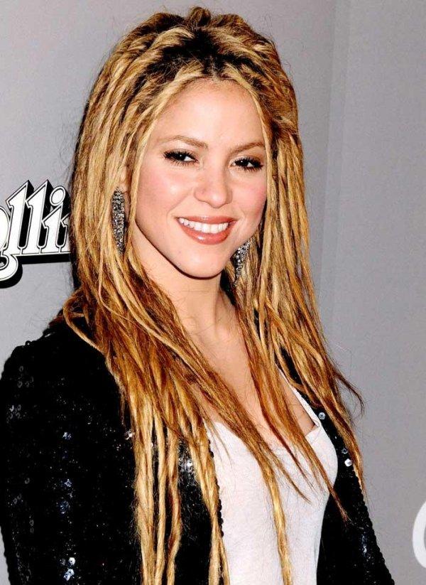 Shakira 7 Fierce Celebrities With Dreadlocks Who Rocked
