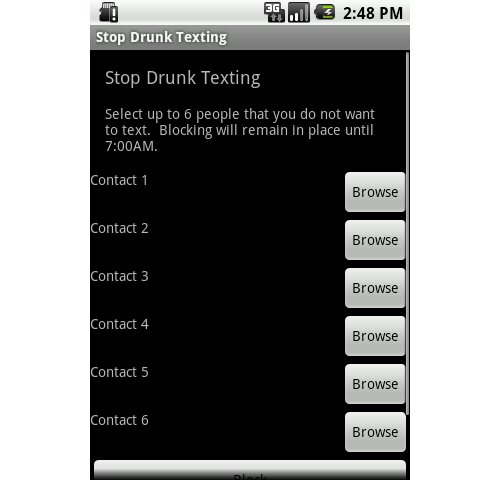 StopDrunkTexting