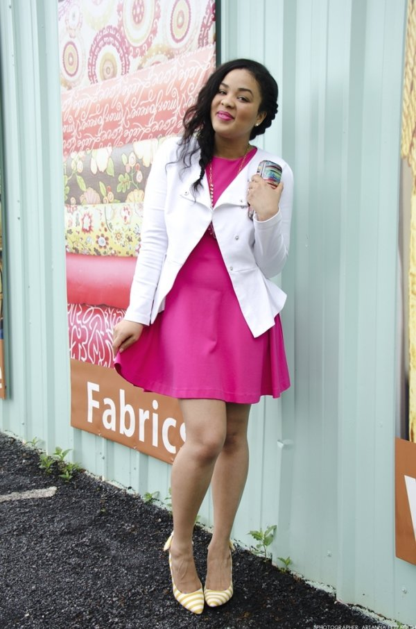 clothing,pink,dress,outerwear,sleeve,