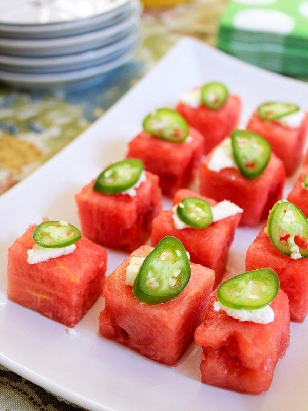 Watermelon and Salad