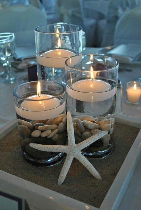 flottant bougies 32 salles de bains sur le th me marin beach. Black Bedroom Furniture Sets. Home Design Ideas