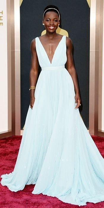 Prada Gown Oscars 2014