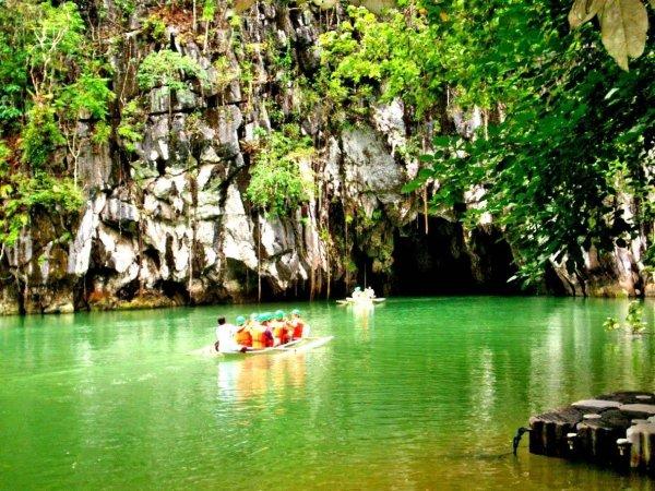 The Puerto Princesa Subterranean River National Park Philippines