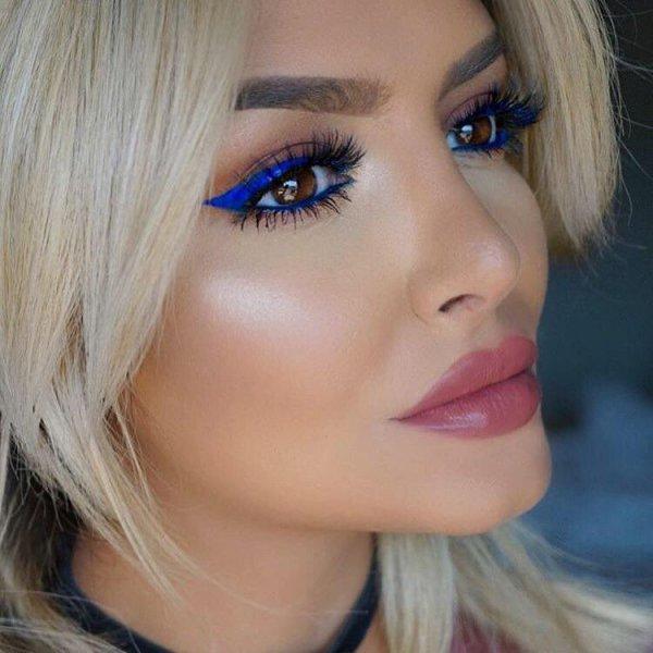 color, hair, face, eyebrow, blue,