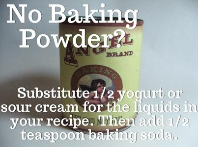 Missing Baking Powder?