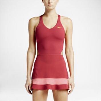 Popular Swiss Womens Wide Strap Tennis Dress Rose Black  EBay