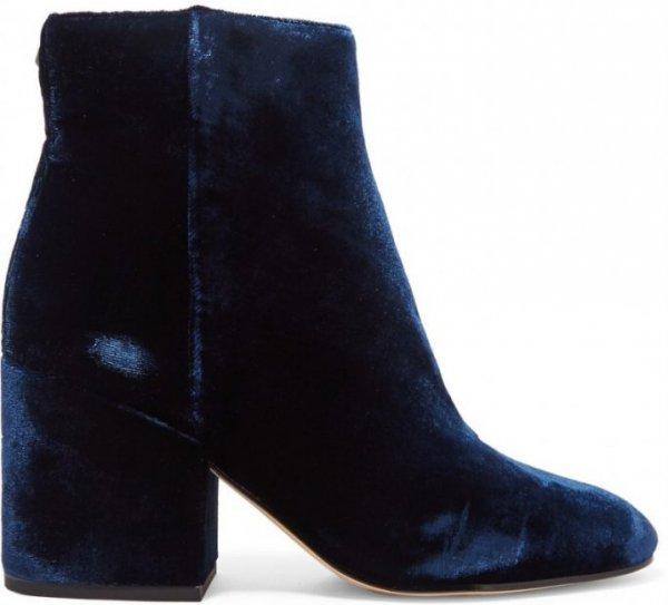 Sam Edelman Taye Velvet Ankle Boots
