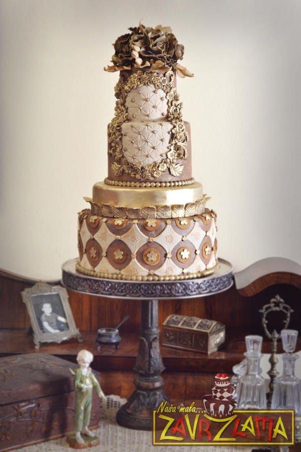 wedding cake,ZVEZA,