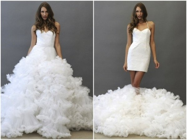 9 super fun ideas for your wedding for After wedding dress for bride
