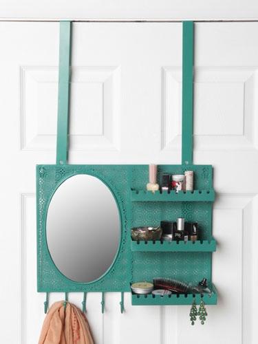 Buy an over-the-door Vanity Station