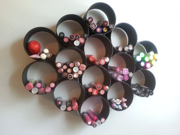 DIY Lipstick Organizer. THIS is so COOL!!!