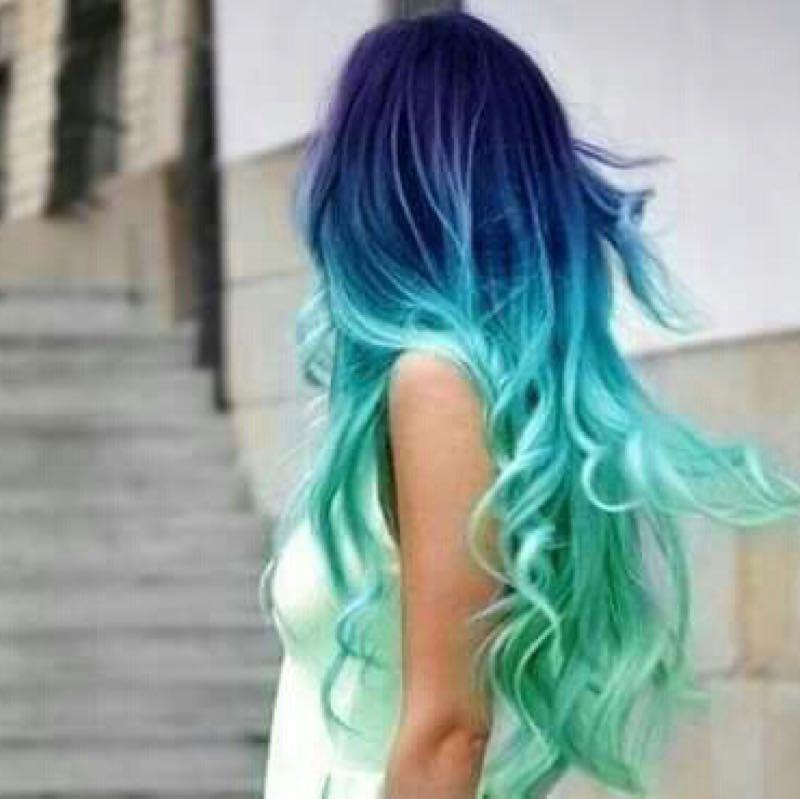 20 Pretty Cool Colored Hair Ideas