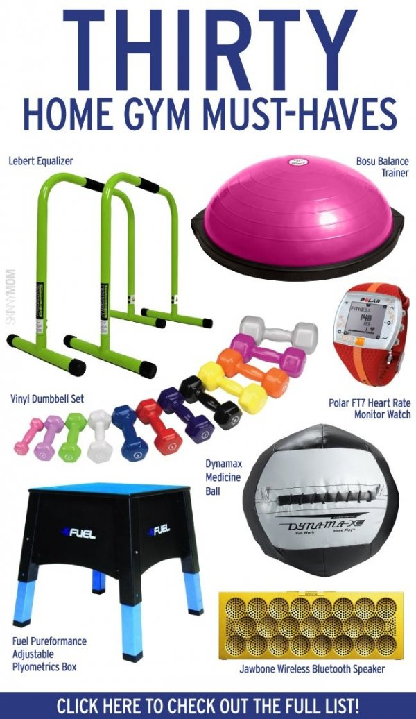 Home gym must haves awesome pieces of exercise