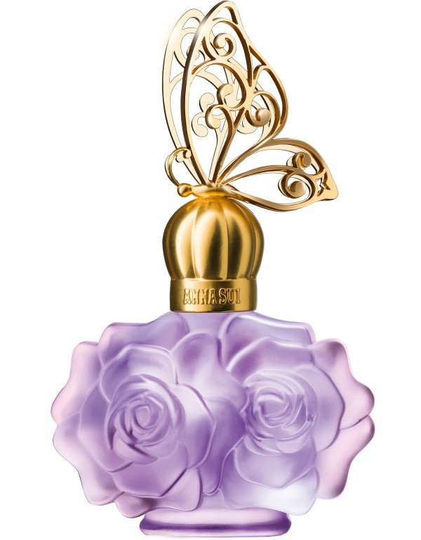 Anna Sui, lilac, lavender, flower, jewellery,