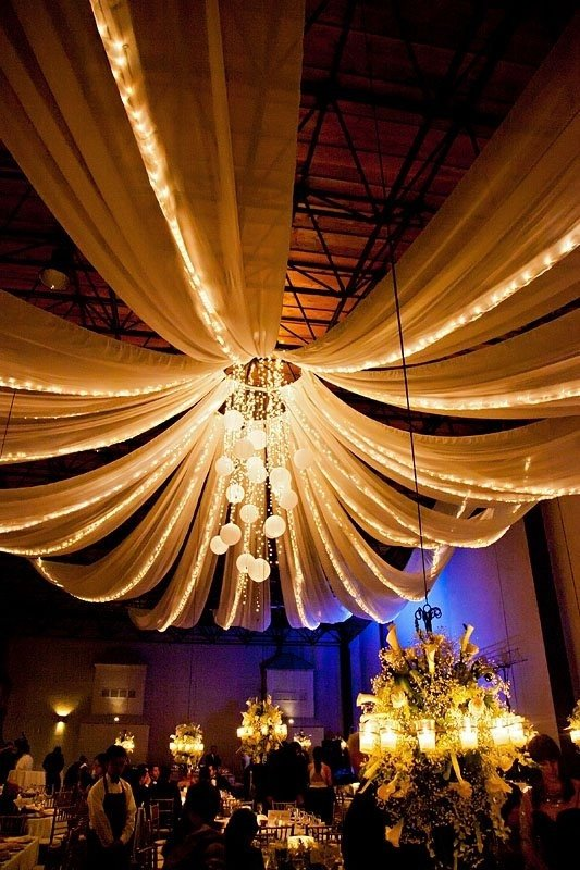 ceiling wall lighting reception - photo #12