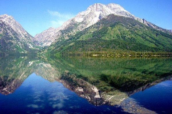 Jenny Lake Campground, Grand Teton National Park, Wyoming - 9…