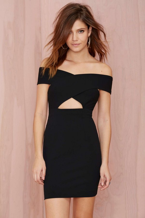 Nasty Gal Solace London Moss Bodycon Dress