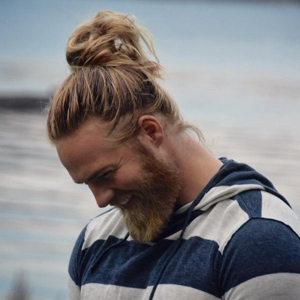And He Just Slays the Man Bun