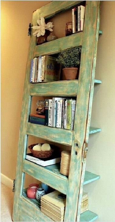 Another Way to Use an Old Door