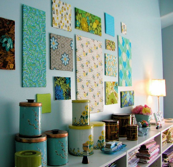 Create All Your Canvases with Fabric