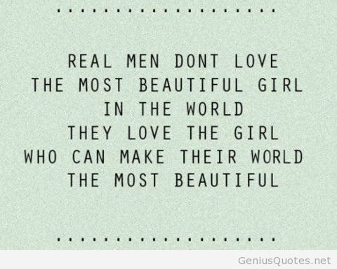 Quotes About Men Fair 10 Quotes About What Men Really Love In Women.…