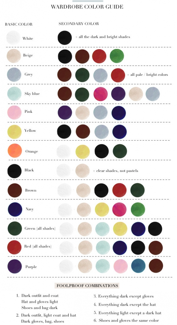 A Nifty Color Guide
