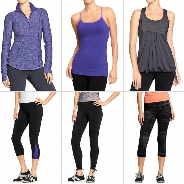 Inexpensive workout clothes for women