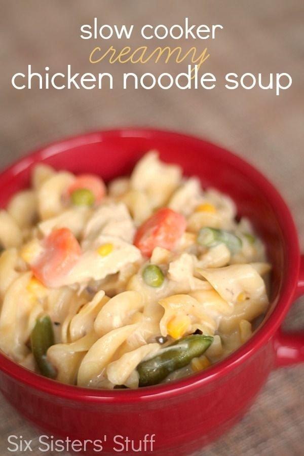 Creamy Chicken Noodle