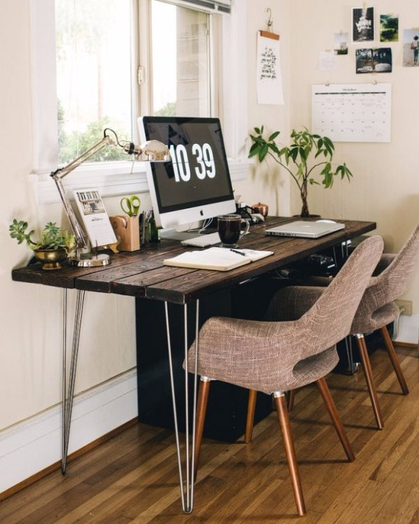 furniture, table, desk, office, chair,