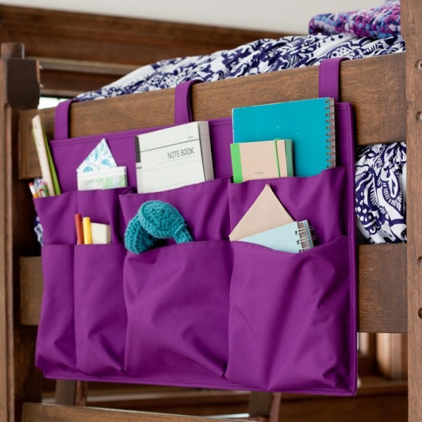 Use Hanging Storage Pockets Wherever You Can
