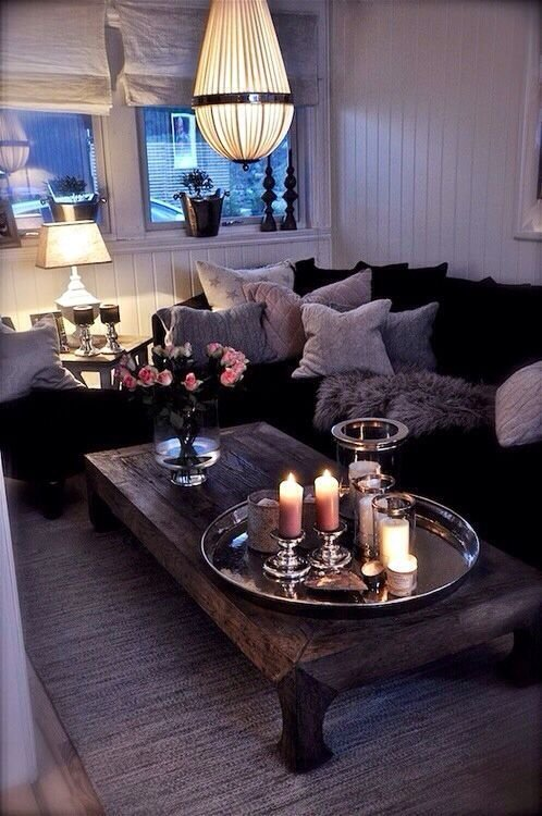 Make a Small Space Cozy