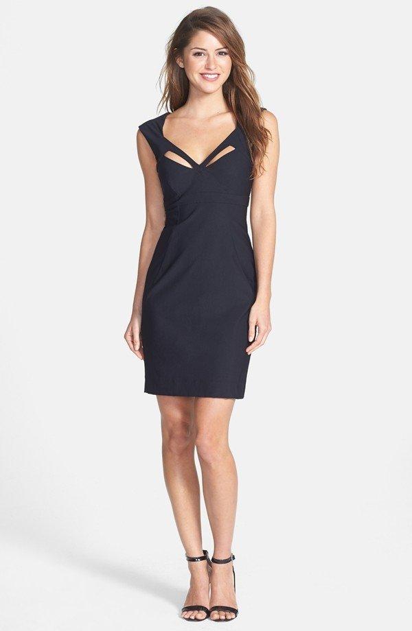 Indecent Proposal Dress Jersey Sheath Dress