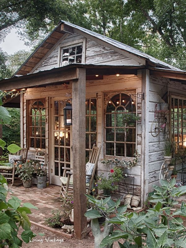 Rustic Move Over Man Cave 🚹 The She Shed Is Here