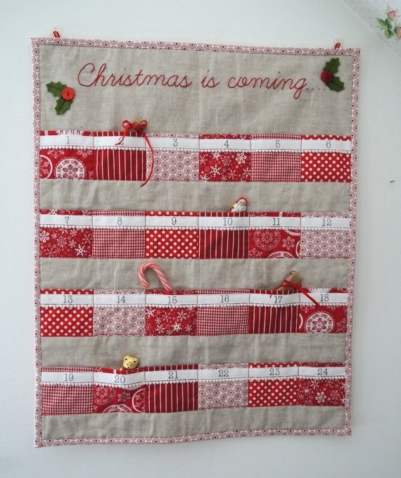 Sewn Advent Calendar Ideas : Sewn up fun 🤗 diy ideas for your advent calendar this…
