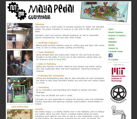 Maya Pedal, Guatemala