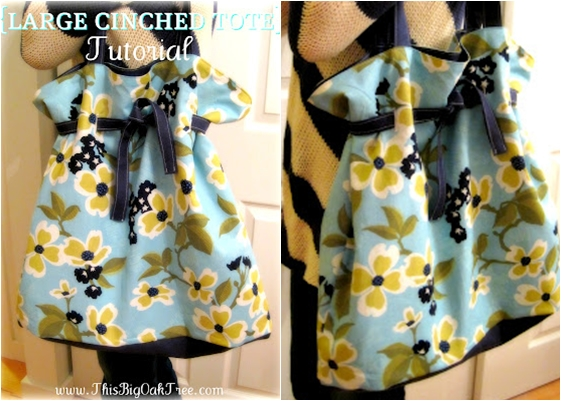 Cinched Tote